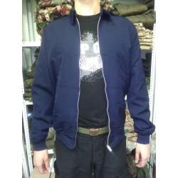 Куртка-ветровка морская, короткая, на молнии, Англия, б/у.