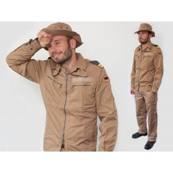Куртка-ветровка негорючая морской-пехоты Бундесвер (Германия), Coyote, б/у.