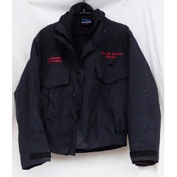 Куртка пожарной охраны короткая Англия, 3 в 1, Синяя, б/у.