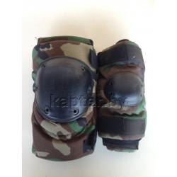 Защитный комплект (наколеники + налокотники) армейскии.