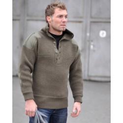 свитер Австрийских  горных подразделений на пуговицах.