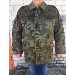 Куртка  польской армии с утеплителем pl-woodland.