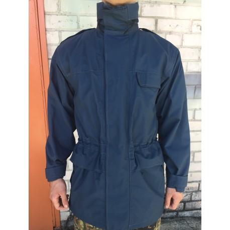 Куртка непромокаемая с утеплителем Англия, мембрана GORETEX, Синяя, б/у.