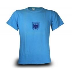 Футболка спортивная Бундесвер (Германия), Синяя, б/у.