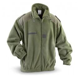 Куртка флисовая Франция, Windblock, Олива.