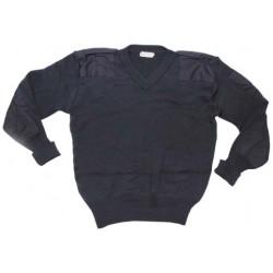 свитер ENG. синий .
