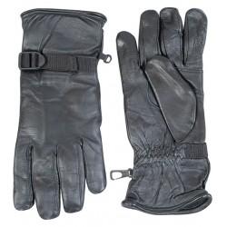 Перчатки кожаные Англия, Чёрные, б/у.