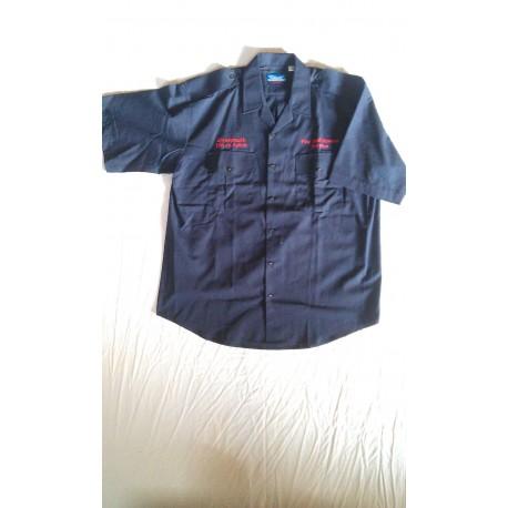 Рубашка-поло ANG. пожарная синяя б/у