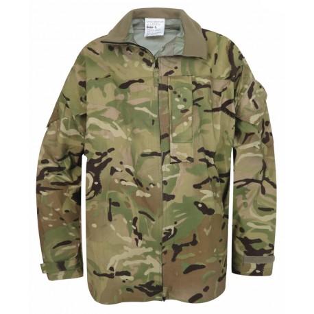 Куртка непромокаемая лёгкая Англия, мембрана GORETEX, Рипстоп, MTP, б/у.