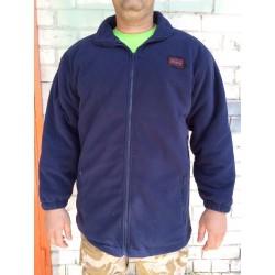 Куртка флисовая с утеплителем Англия, Синяя