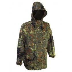 Куртка непромокаемая триламинат Бундесвер (Германия), мембрана GORETEX, Gr.I(44-46), Флектарн, б/у.
