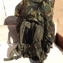 Чехол непромокаемый на рюкзак большой Италия, Woodland.
