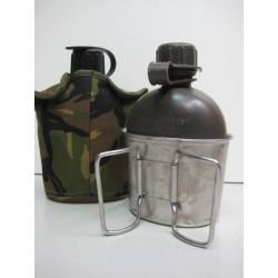 Фляга армейская в чехле DPM со стаканом Голландия, 0.75л, б/у.