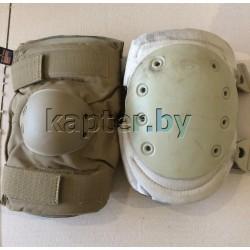 Комплект защитный (наколенники и налокотники) США, Coyote, б/у.