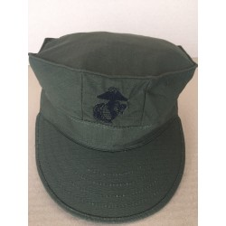 Кепка морской пехоты US, Рипстоп, Олива.