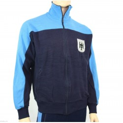 Куртка спортивная трикотажная Бундесвер (Германия), Синяя